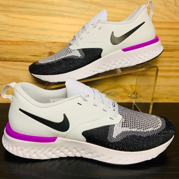 New Nike Odyssey React Flyknit 2 Running Shoes NWT